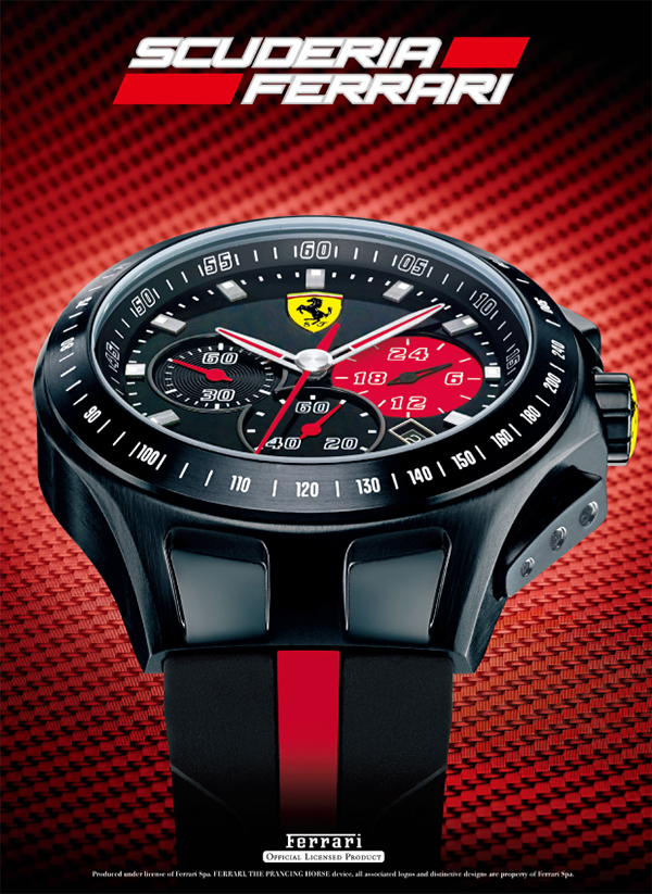 scuderia ferrari brand japan watch importers 39 association. Cars Review. Best American Auto & Cars Review